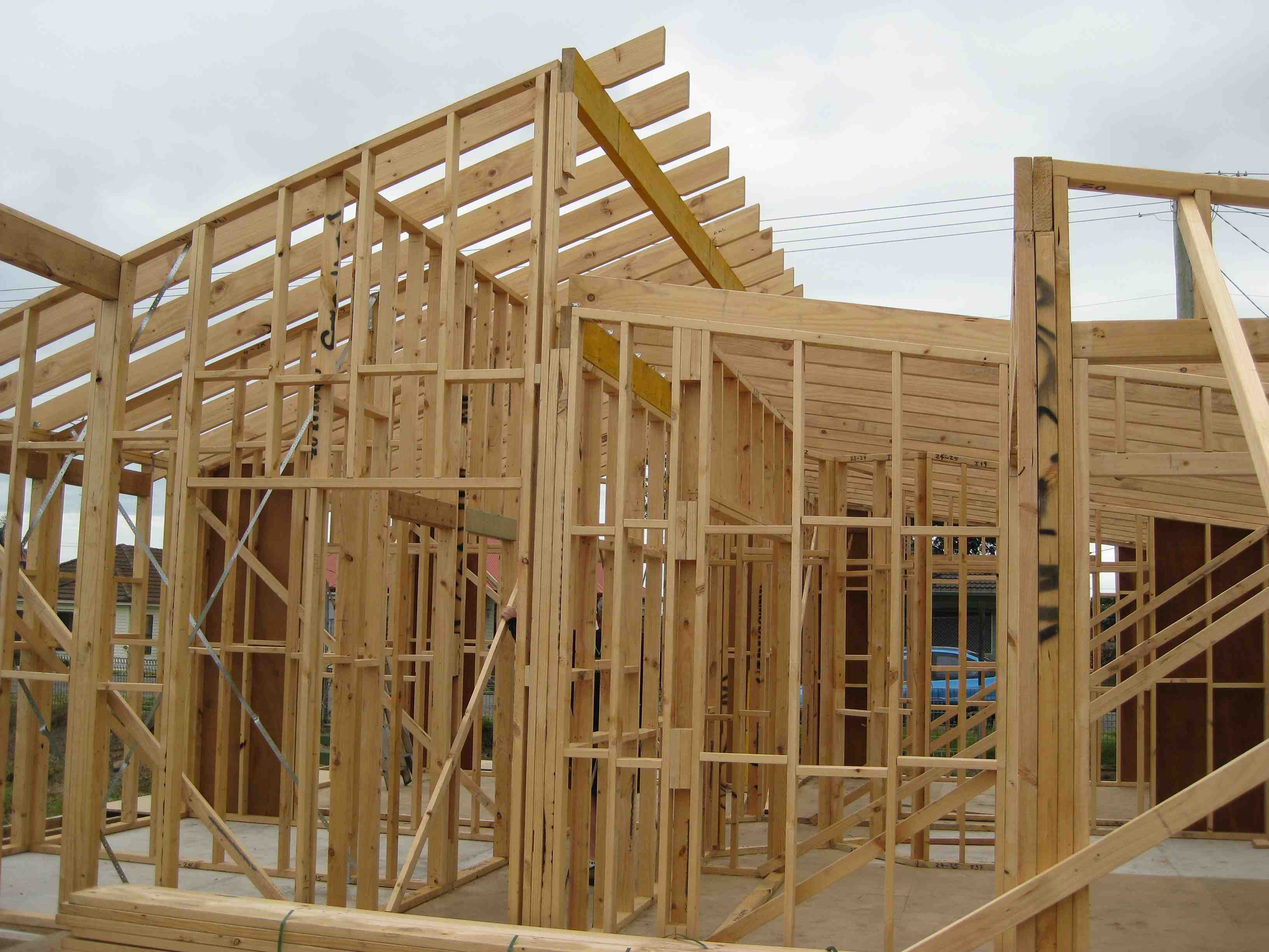 House the owner builder magazine for How to build a timber frame house