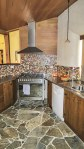 Italian mosaic tiles in the kitchen