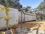 Straw bale garden walls