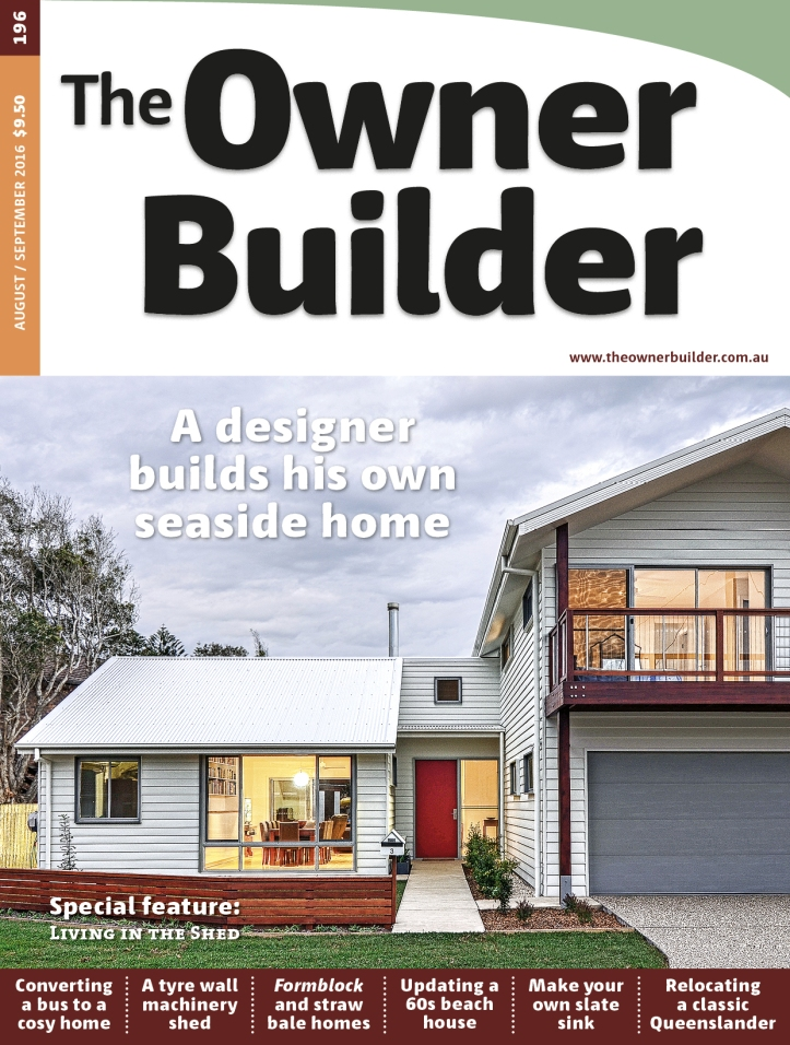 From The Owner Builder No. 196 Aug/Sep 2016